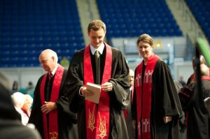 Me, Narcie, and Josh at Josh's Ordination